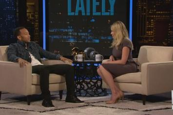 """John Legend """"Interview With Chelsea Lately"""" Video"""