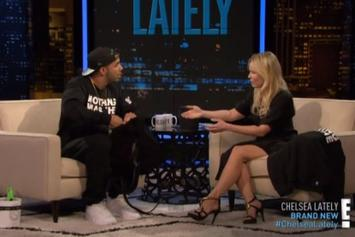 "Drake Talks ""Anchorman 2"" And ""NWTS"" On Chelsea Lately"