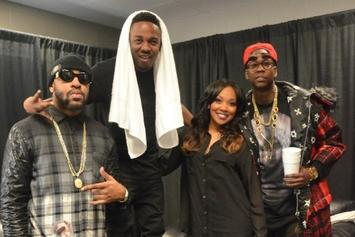 """Photos: Andre 3000, 2 Chainz, T.I., Lil Wayne & More Hit Kanye West's """"Yeezus"""" Tour In Atlanta"""