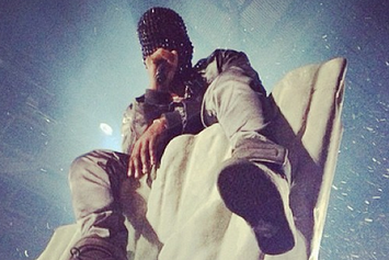 Kanye West's Chicago Visionary Stream Of Consciousness
