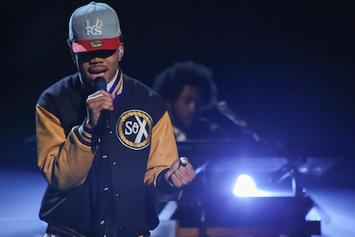 """Chance The Rapper Performs """"Chain Smoker"""" Live On Arsenio Hall"""