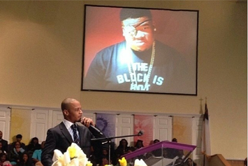 T.I. Speaks At Doe B's Funeral
