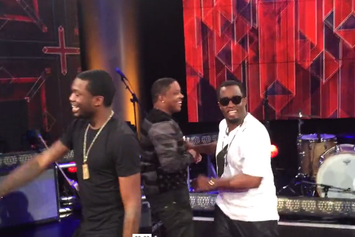 Diddy & Mase Perform At Revolt TV's Hollywood Studio