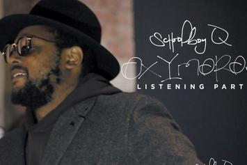"Exclusive ScHoolboy Q ""Oxymoron"" Listening Party Footage"