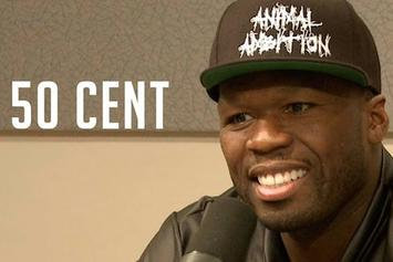 50 Cent On The Angie Martinez Show