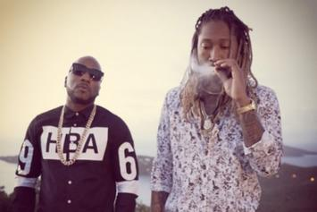 """BTS Photos: Jeezy and Future's Upcoming """"No Tears"""" Video"""