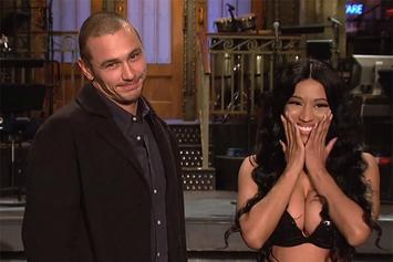 Nicki Minaj Stars Alongside James Franco In SNL Promo