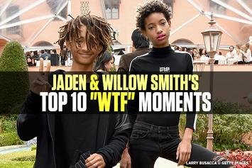 """Jaden & Willow Smith's Top 10 """"WTF"""" Moments"""