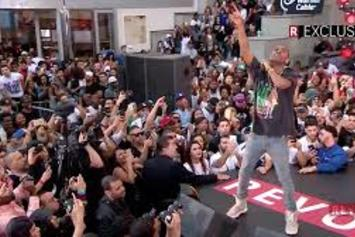 """Big Sean Performs """"Blessings"""" On Revolt Live"""
