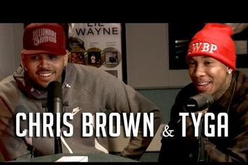 Chris Brown & Tyga On Hot 97