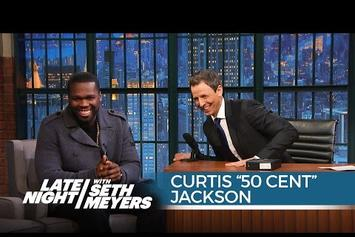 50 Cent Interviewed On Late Night With Seth Meyers