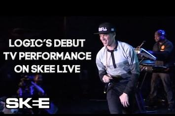 "Logic Performs ""5 A.M."" On Skee TV"
