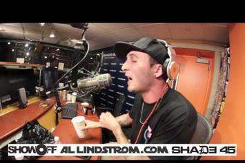 Chris Webby Freestyle On Shade 45