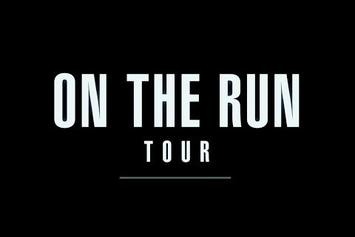 "Jay Z & Beyonce ""On The Run"" Tour Rehearsals"