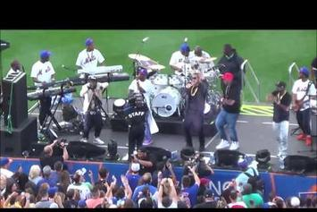 "G-Unit Performs ""Real Quick"" Live at Citi Field"