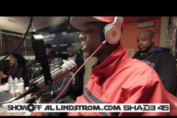 "Boldy James ""Showoff Radio"" Freestyle"