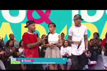 August Alsina Shuts Down Question About Trey Songz Beef On 106 & Park