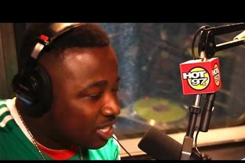 """Troy Ave Freestyles on Hot 97′s """"The Hot Box"""""""