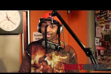 Mysonne Gives Advice To Aspiring Rappers & Freestyles