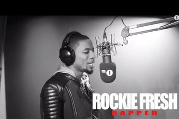 "Rockie Fresh ""BBC Radio 1 'Fire In The Booth' Freestyle"" Video"