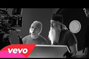 "Eminem Feat. Rick Rubin ""BTS Of 'Berzerk'"" Video"