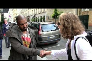 Kanye West Tells French Paparazzi They're Better Than American Paparazzi