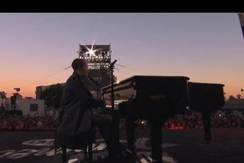 """John Legend """"Performs """"All Of Me"""" On Jimmy Kimmel"""" Video"""