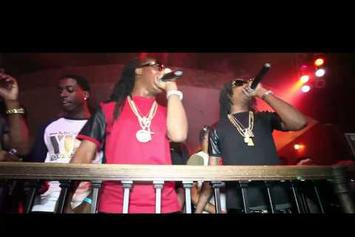 "Migos ""Perform Live @ Mixtape Release Party"" Video"
