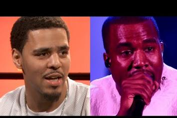 "J. Cole ""Talks Kanye Competition & ""Born Sinner"""" Video"