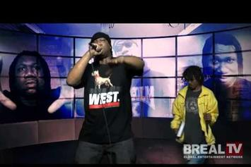 """KRS-One """"B. Real TV Freestyle"""" Video"""
