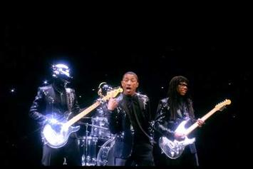 """Pharrell Feat. Daft Punk & Nile Rodgers """"SNL Commercial For """"Get Lucky"""""""" Video"""