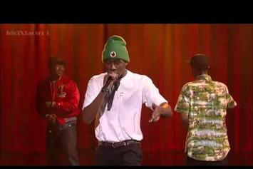 "Tyler The Creator, Earl Sweatshirt & Domo Genesis  Perform ""Rusty"" On David Letterman"