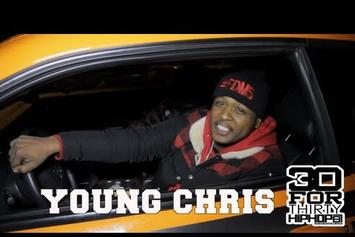"Young Chris ""30 For Thirty Freestyle"" Video"
