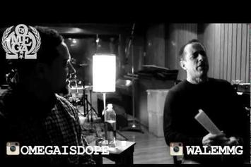 """Wale Feat. Jerry Seinfeld """"In Studio Together"""" Video"""