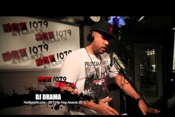 """DJ Drama """"Gives Play by Play Account of Rick Ross & Jeezy Fight at BET Awards"""" Video"""