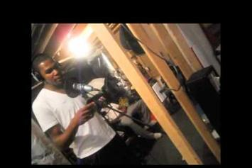 """Dave East """"in the Studio with Kevin Durant """" Video"""