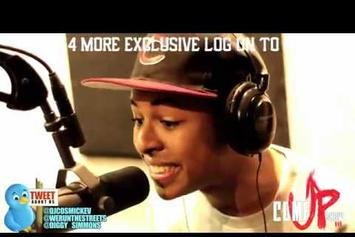 """Diggy Simmons """"Cosmic Kev Freestyle"""" Video"""