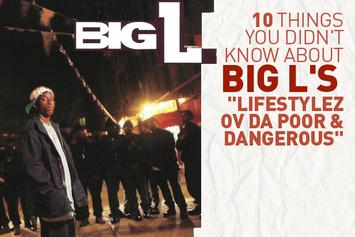 "10 Things You Didn't Know About Big L's ""Lifestylez Ov Da Poor & Dangerous"""