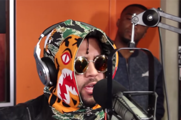Bodega BAMZ Freestyles On Sway In The Morning