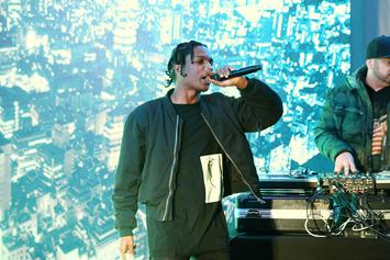 """Tracklist Revealed For A$AP Rocky's """"A.L.L.A"""""""