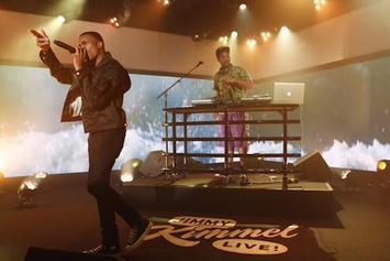 "Vince Staples Performs ""Senorita"" & ""Lift Me Up"" On Jimmy Kimmel"