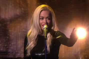 "Rita Ora Performs ""Body On Me"" On Ellen"