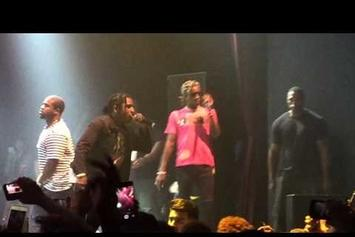 Young Thug Brings ASAP Rocky Out In L.A.