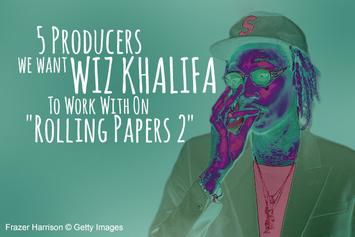 """5 Producers We Want Wiz Khalifa To Work With On """"Rolling Papers 2"""""""