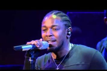 """Kendrick Lamar Performs """"These Walls"""" With The National Symphony Orchestra"""