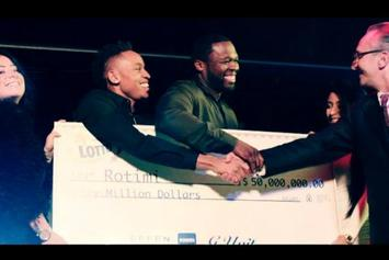 "Rotimi Feat. 50 Cent ""Lotto"" Video"