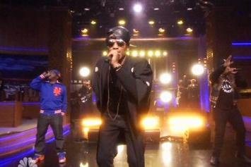 """A Tribe Called Quest Reunites On """"The Tonight Show With Jimmy Fallon"""""""