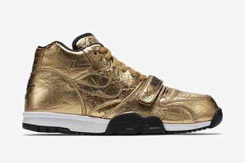 Nike Drips Everything In Gold For Super Bowl 50