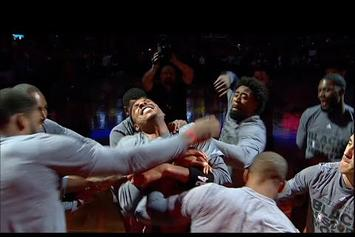 LA Clippers Jokingly Reenact Paul Pierce's Stabbing Incident