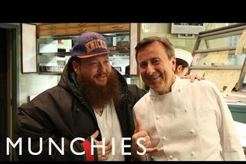 "Action Bronson Tries Pressed Duck In NYC For ""Fuck That's Delicious"""
